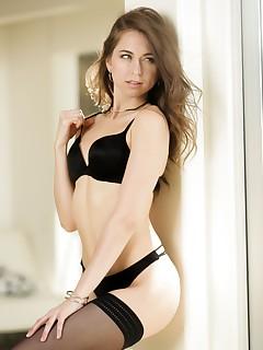 Brunette Nylon Porn