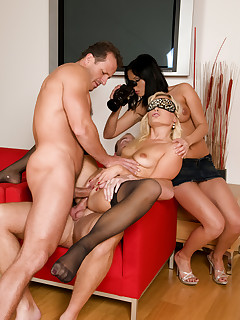 Group nylon porn pictures