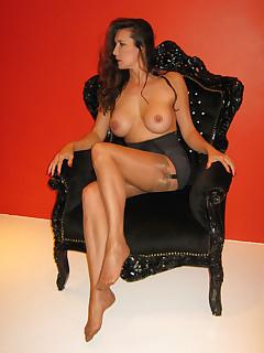 Glamour nylon porn pictures